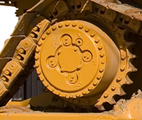 Caterpillar Bulldozer Final Drive