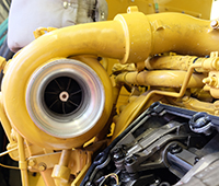Caterpillar Bulldozer Turbo