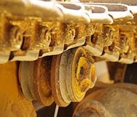 Komatsu Bulldozer Undercarriage