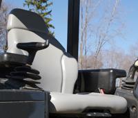 Dresser Bulldozer Seat