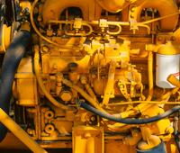 Komatsu Excavator Engines