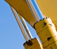 Hitachi Excavator Boom Cylinder