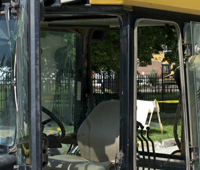 Loader Cab Door