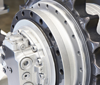 Volvo Excavator Propel Motor